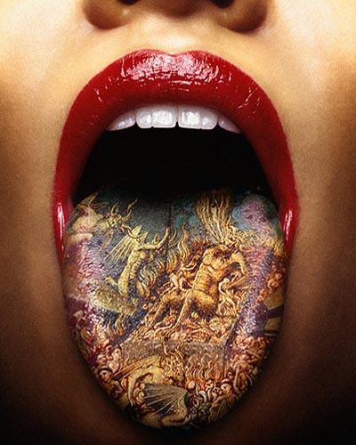 tongue-tattoo