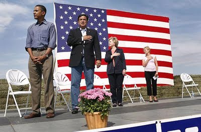 obama wouldn t pledge allegiance to the flag
