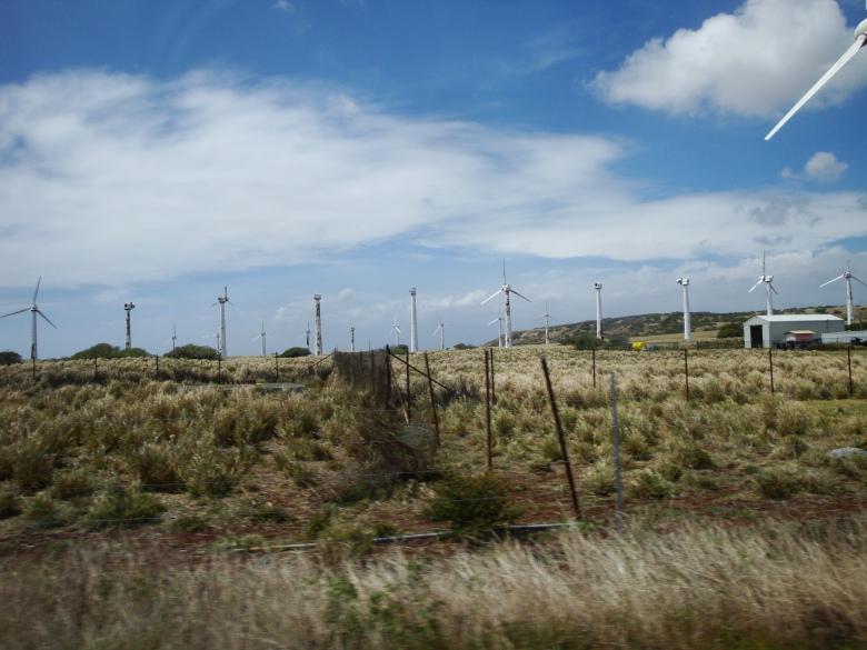 Failed Wind Farm