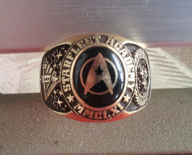 Star Trek ring